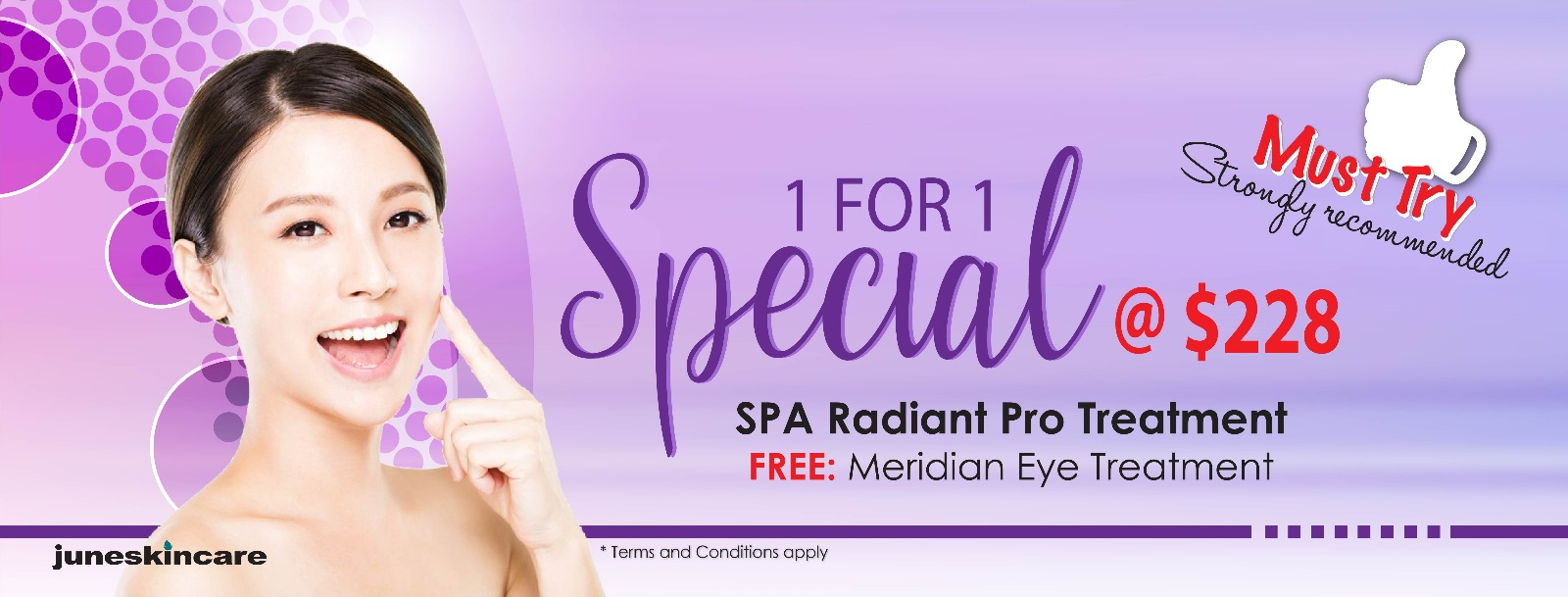 Spa Radiant Pro Treatment Facial